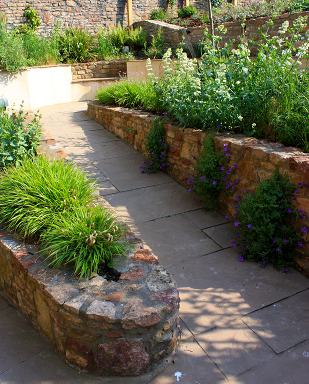 Sunken Garden, Bristol - Blueprint Landscape Design