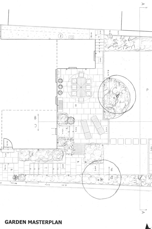 Clevedon Garden Plan
